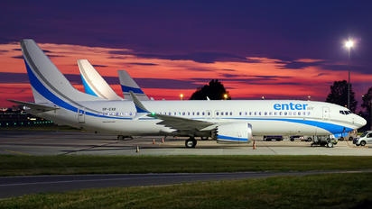 SP-EXB - Enter Air Boeing 737-8 MAX
