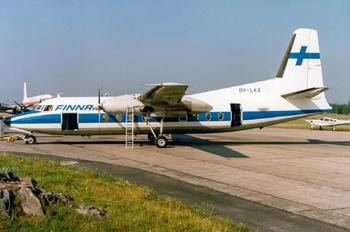 OH-LKA - Finnair Fokker F27