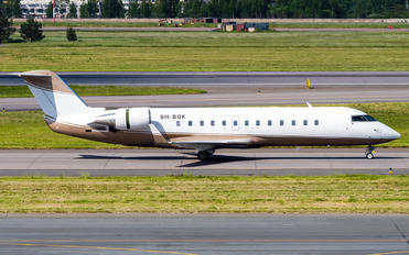 9H-BGK - Private Bombardier CL-600-2B19