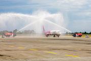 Inaugural flight of WizzAir Abu Dhabi to Kyiv Borispol title=