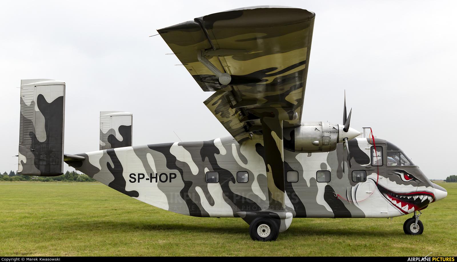 Private SP-HOP aircraft at Piotrków Trybunalski