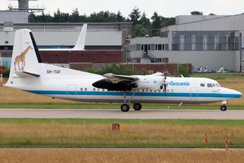 5H-TGF - Tanzania - Government Fokker 50