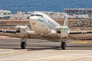 Douglas DC-3 visited Tenerife Reina Sofia title=