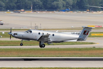 LX-FDI - Jetfly Aviation Pilatus PC-12