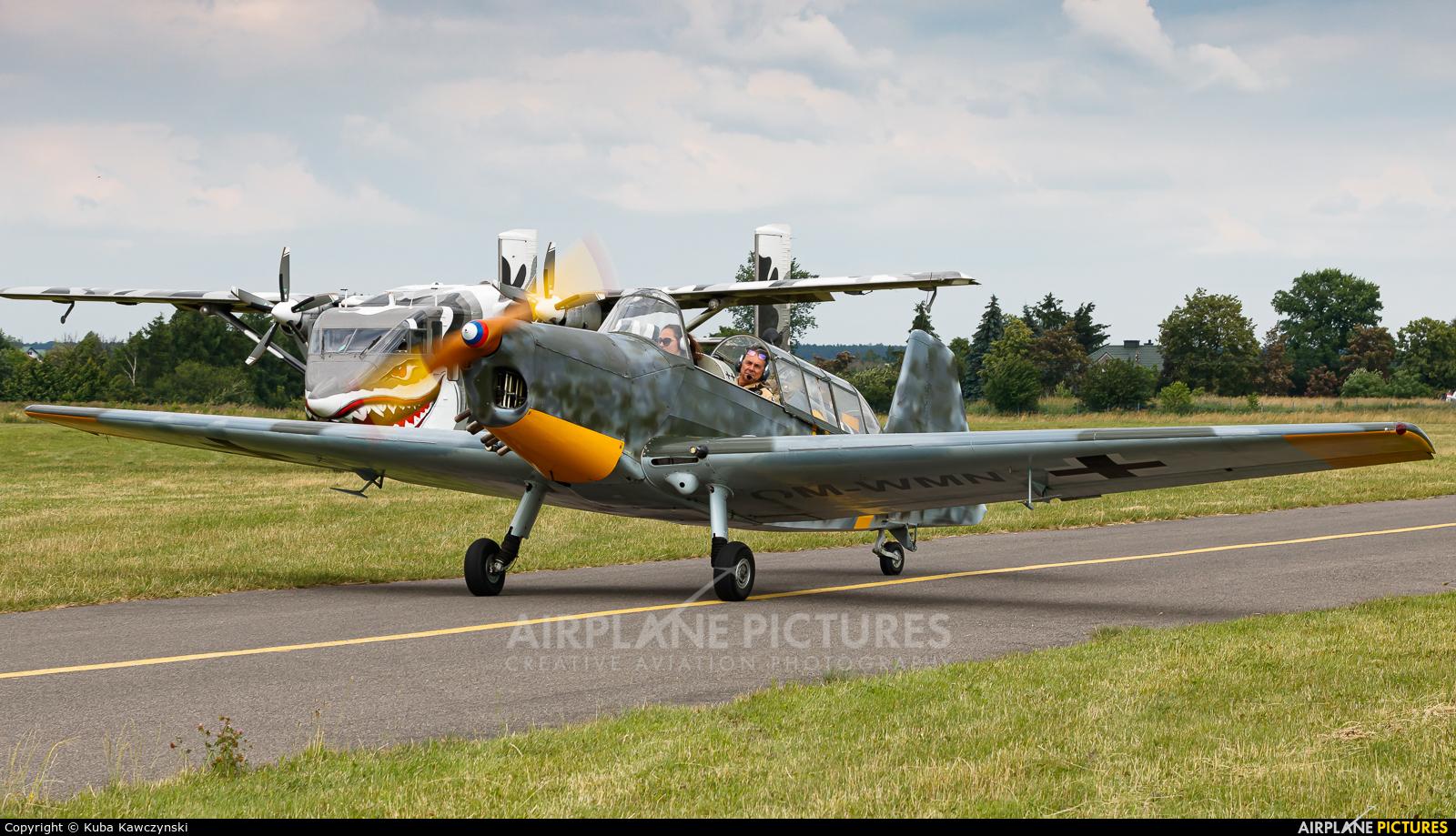 Private OM-WMN aircraft at Piotrków Trybunalski
