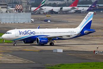 VT-IZL - IndiGo Airbus A320 NEO