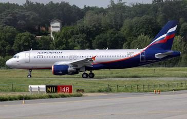 F-WWBN - Aeroflot Airbus A320