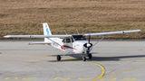 Private Cessna C172N Skyhawk OK-DSV at Ostrava Mošnov airport