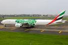 Emirates Airlines Boeing 777-300ER A6-EPL at Mumbai - Chhatrapati Shivaji Intl airport