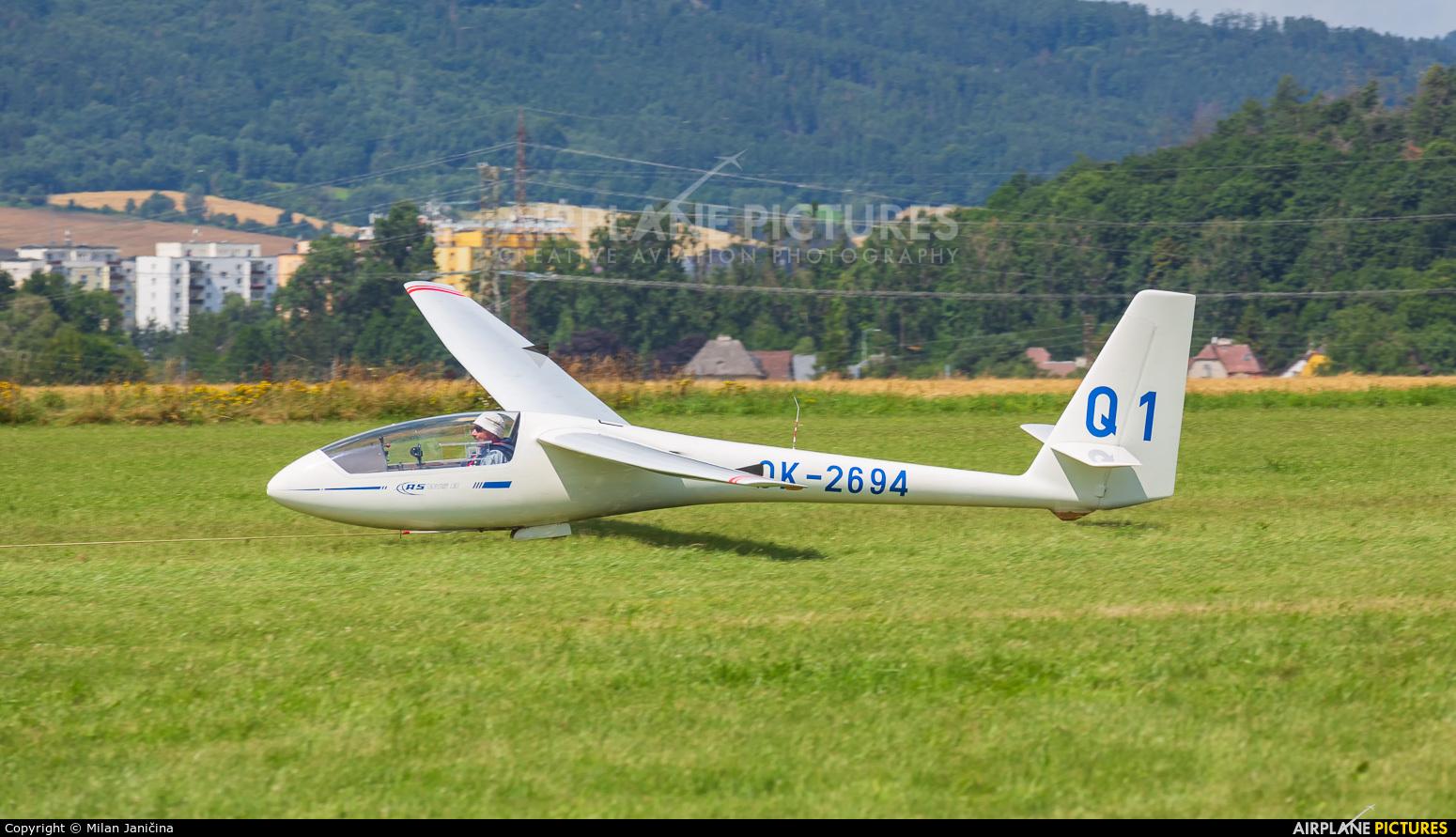 Aeroklub Šumperk OK-2694 aircraft at Šumperk