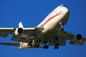 A6-MMM - United Arab Emirates - Government Boeing 747-400