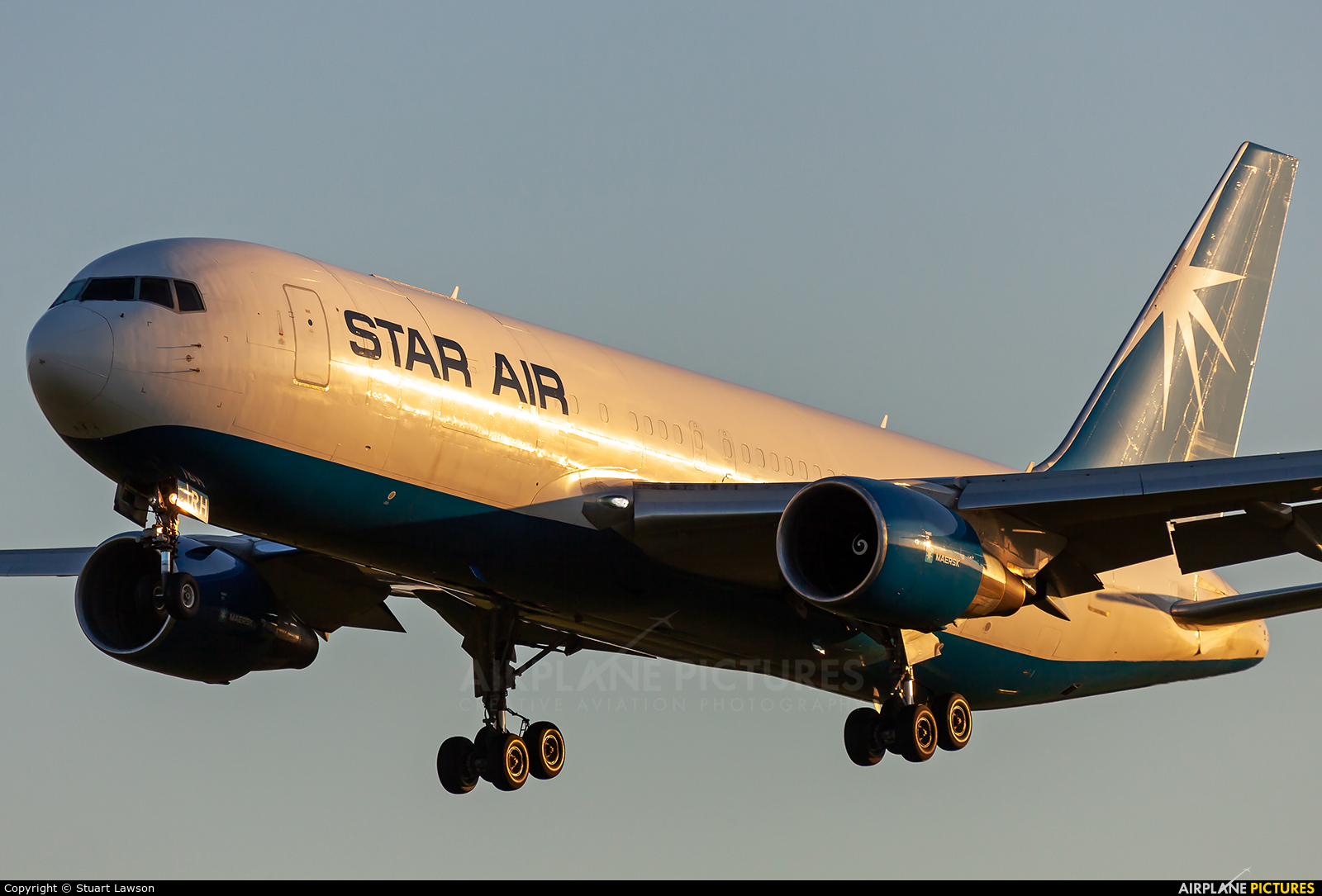 Star Air Freight OY-SRH aircraft at East Midlands