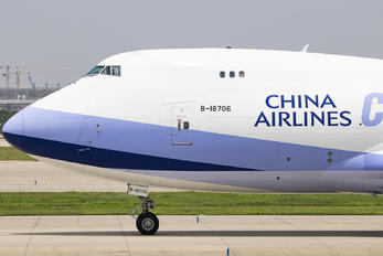 B-18706 - China Airlines Cargo Boeing 747-400F, ERF