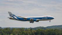AirBridge Cargo Boeing 747-8F at Zurich title=