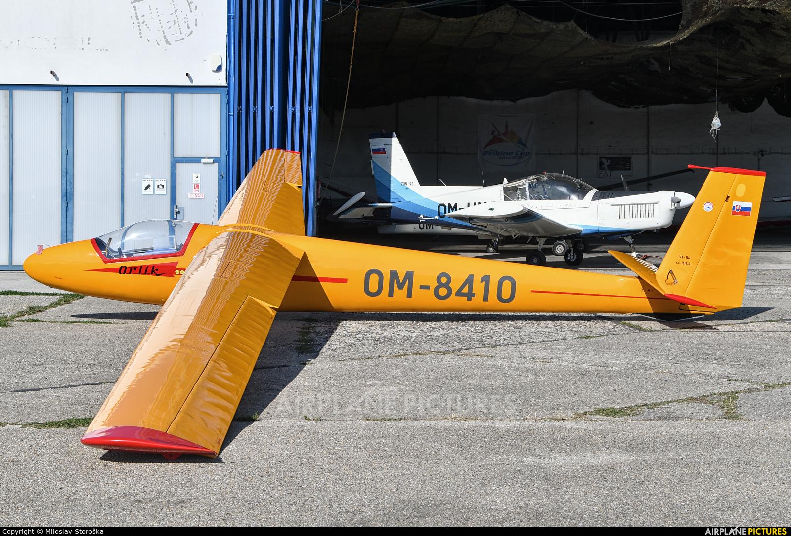 Private OM-8410 aircraft at Nitra