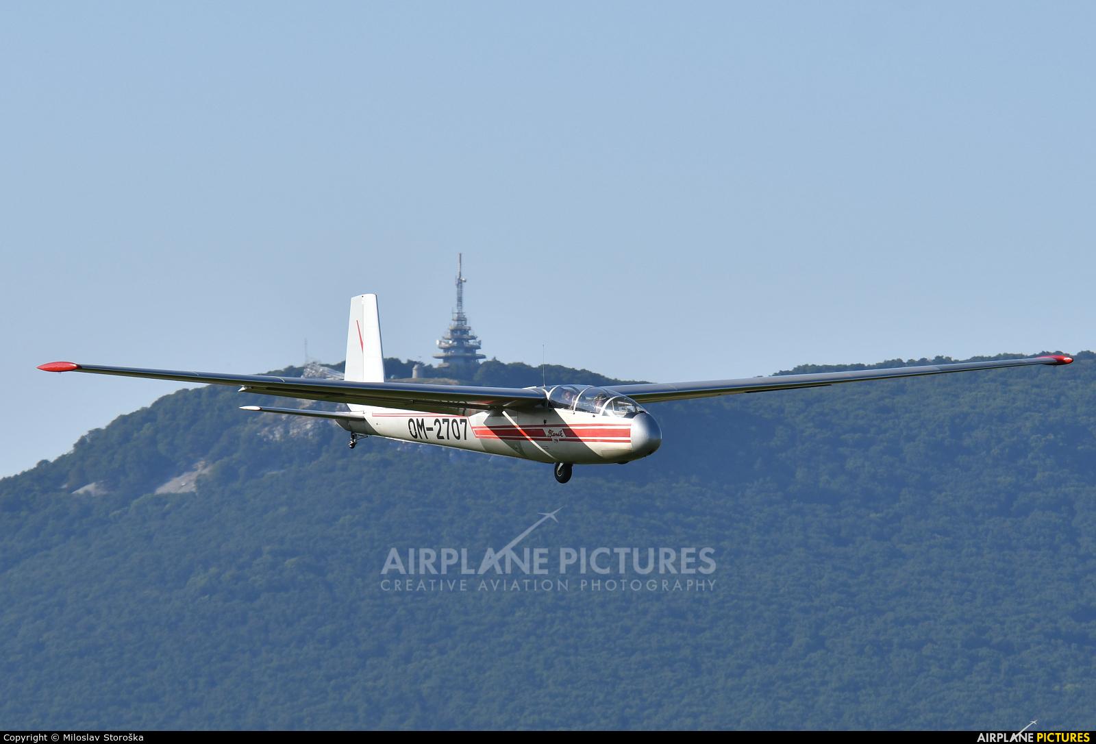 Aeroklub Nitra OM-2707 aircraft at Nitra