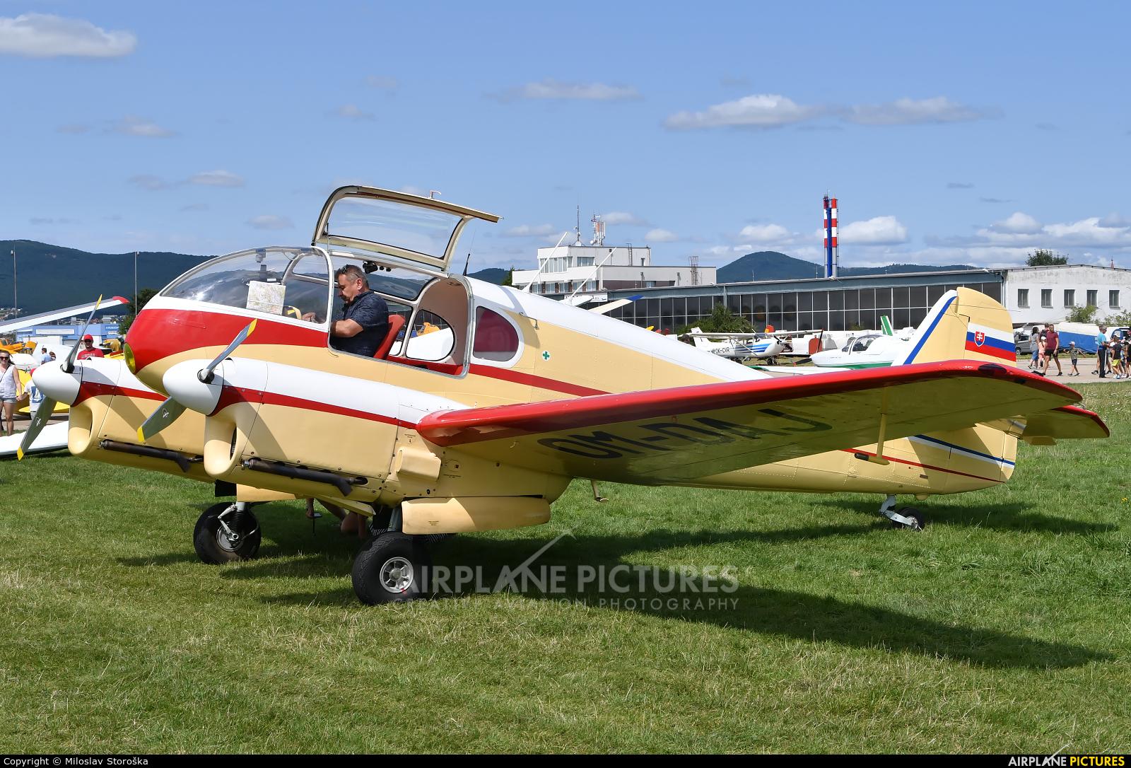 Private OM-DAJ aircraft at Nitra