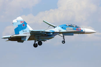 103 - Russia - Navy Sukhoi Su-27UB