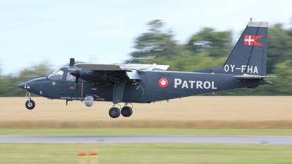 OY-FHA - Denmark - Air Force Britten-Norman BN-2 Islander