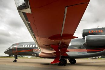 LX-LXL - Global Jet Luxembourg Dassault Falcon 8X