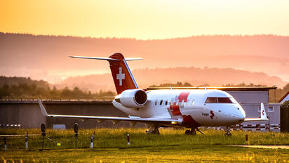 HB-JWA - REGA Swiss Air Ambulance  Bombardier Challenger 650