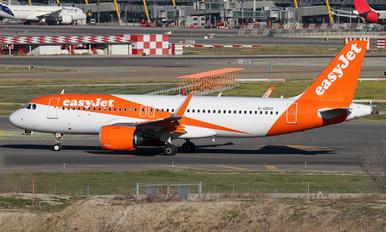 G-UZHY - easyJet Airbus A320 NEO