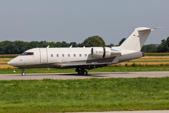 D-AAAY - Air Independence Bombardier CL-600-2B16 Challenger 604
