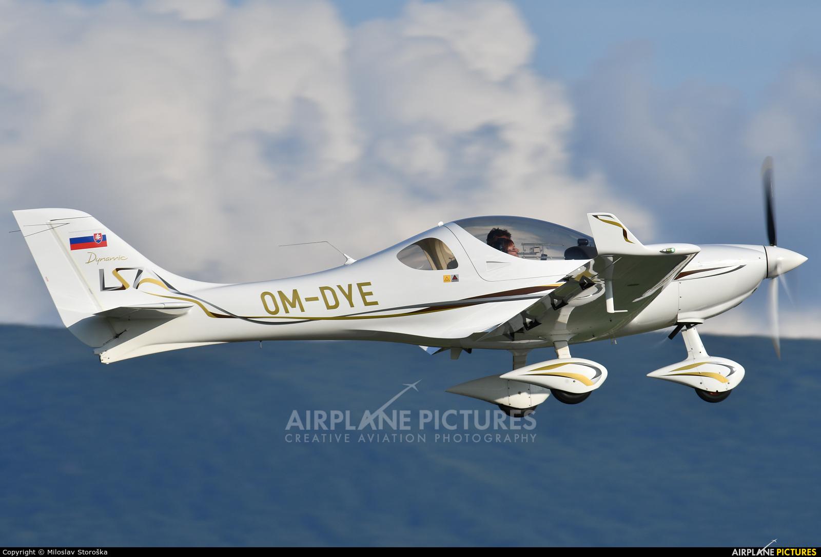Aerospool OM-DYE aircraft at Prievidza