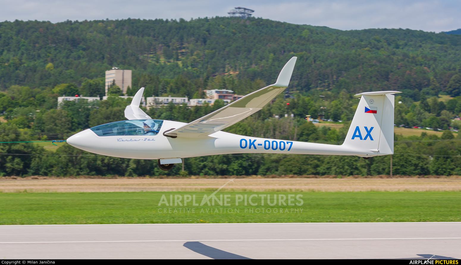 Private OK-0007 aircraft at Prievidza
