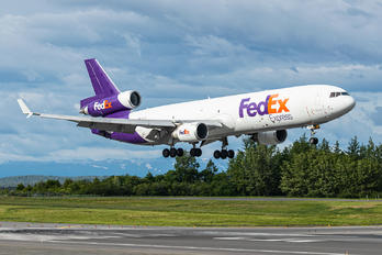 N614FE - FedEx Federal Express McDonnell Douglas MD-11F