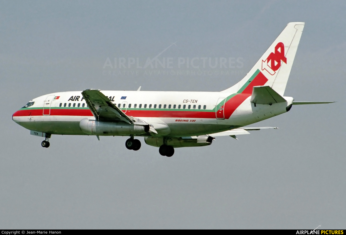 TAP Portugal CS-TEN aircraft at Brussels - Zaventem