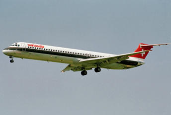 HB-INP - Swissair McDonnell Douglas MD-81
