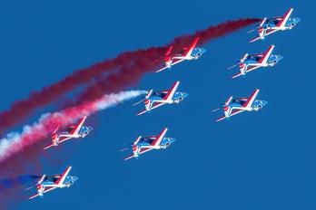 """E169 - France - Air Force """"Patrouille de France"""" Dassault - Dornier Alpha Jet E"""