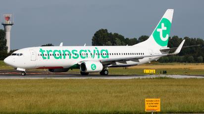 PH-HZV - Transavia Boeing 737-800