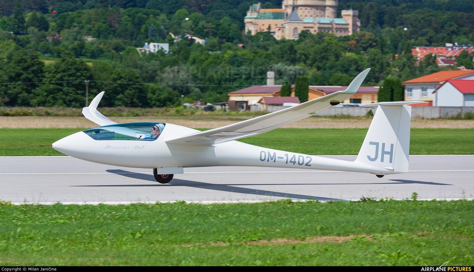 Private OM-1402 aircraft at Prievidza