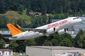 TC-NBZ - Pegasus Airbus A320 NEO