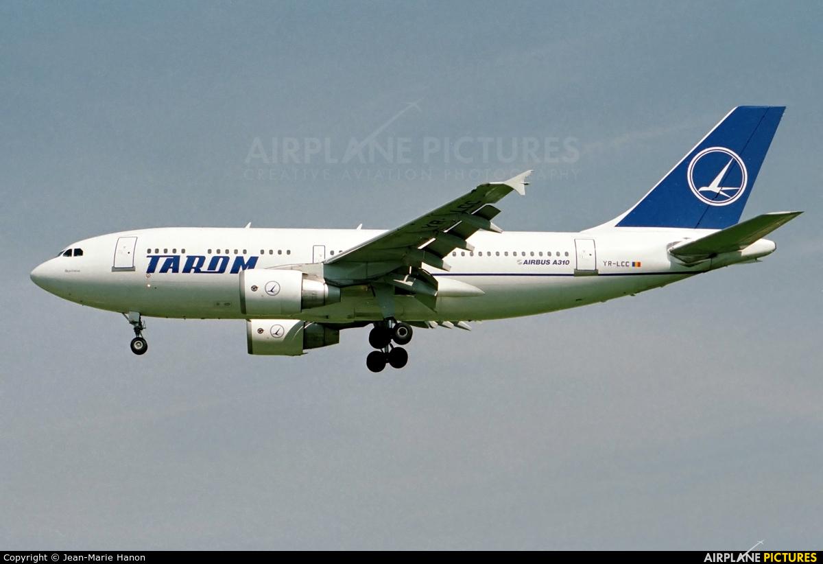 Tarom YR-LCC aircraft at Brussels - Zaventem