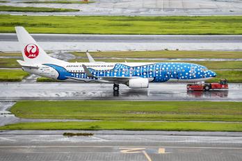 JA05RK - JAL - Japan Transocean Air Boeing 737-800