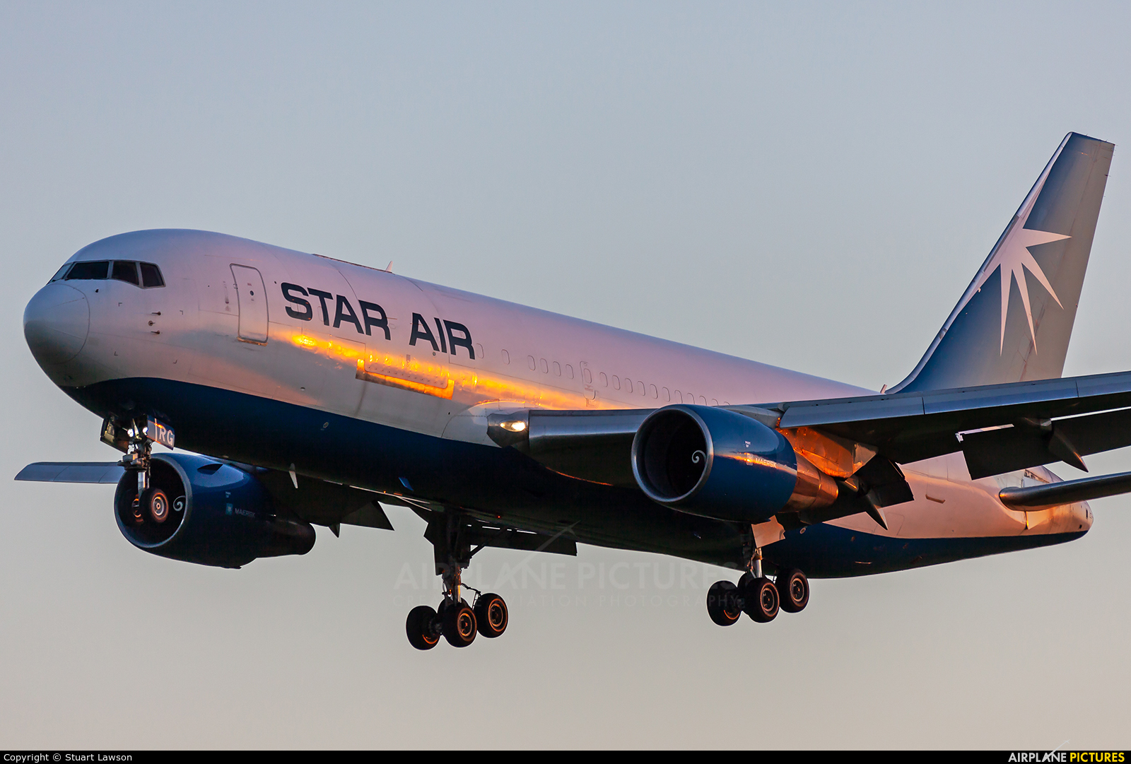 Star Air Cargo OY-SRG aircraft at East Midlands