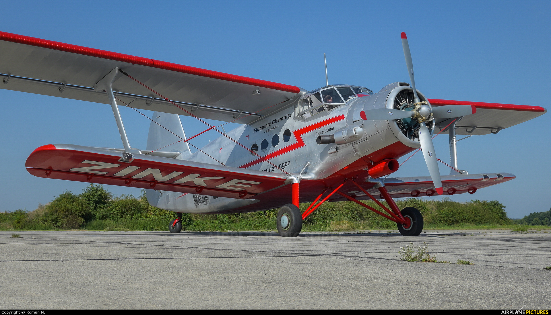 Private D-FWJG aircraft at Bautzen