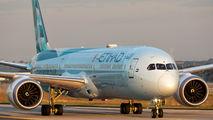 A6-BMH - Etihad Airways Boeing 787-10 Dreamliner aircraft