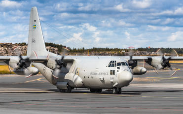84006 - Sweden - Air Force Lockheed Tp84 Hercules