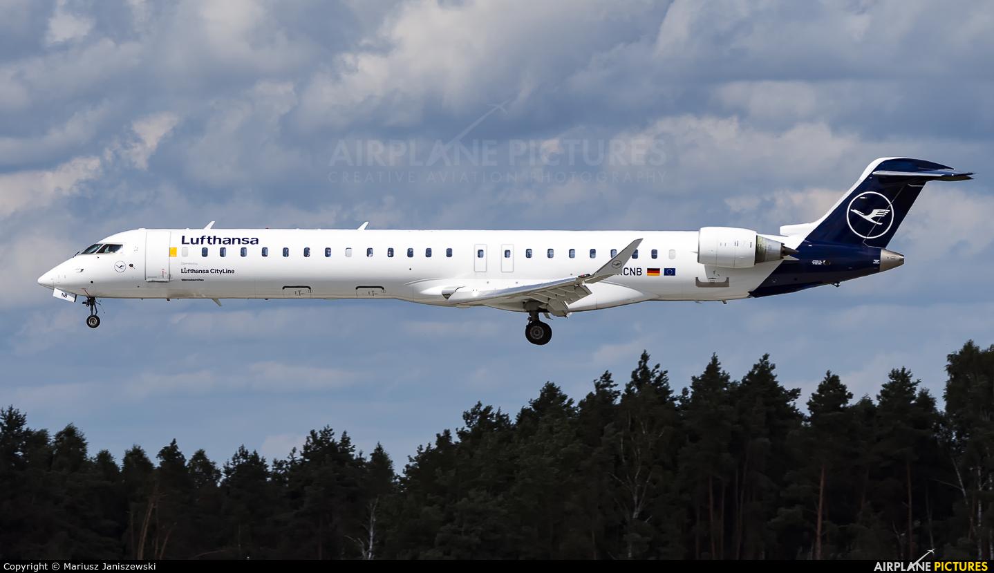 Lufthansa Regional - CityLine D-ACNB aircraft at Katowice - Pyrzowice