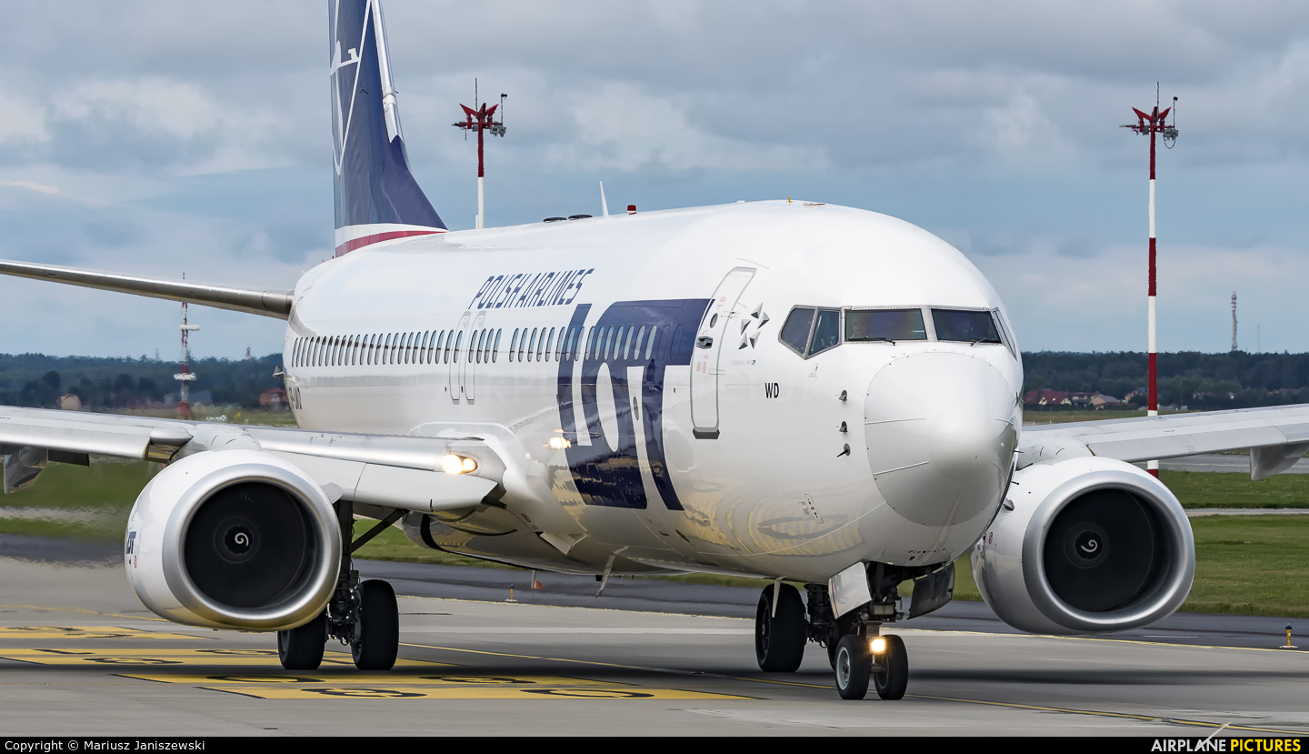 LOT - Polish Airlines SP-LWD aircraft at Katowice - Pyrzowice