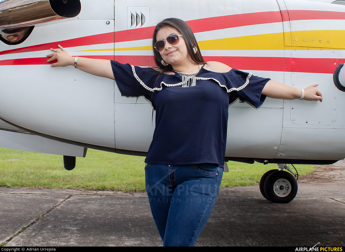 - Aviation Glamour TG-ASE aircraft at Guatemala - La Aurora