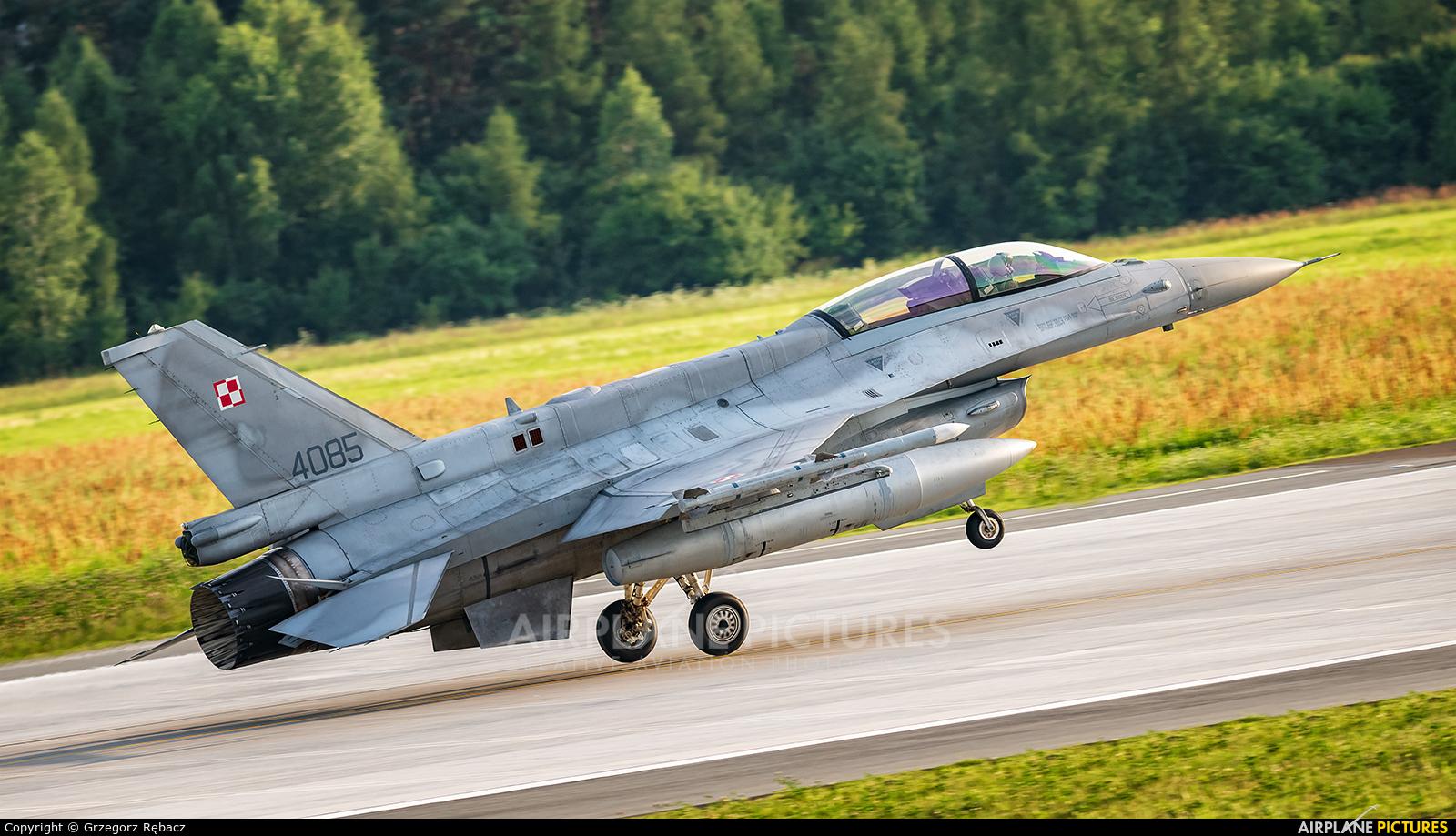 Poland - Air Force 4085 aircraft at Łask AB
