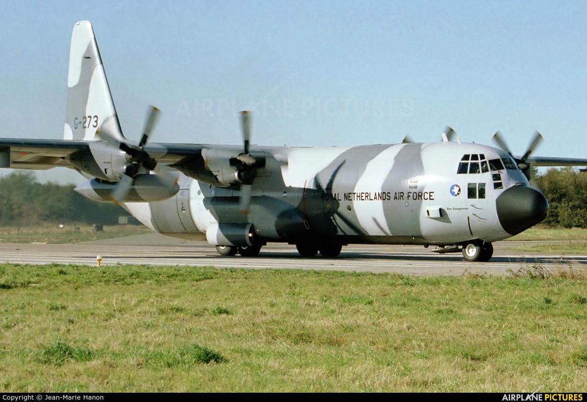 Netherlands - Air Force G-273 aircraft at Florennes