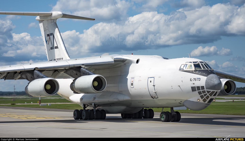 Aviacon Zitotrans RA-76502 aircraft at Katowice - Pyrzowice