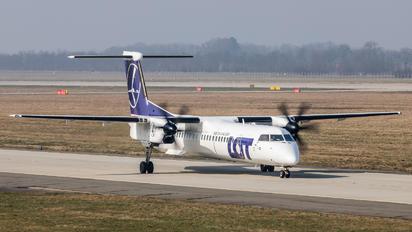 SP-EQC - LOT - Polish Airlines de Havilland Canada DHC-8-400Q / Bombardier Q400