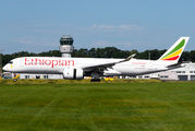 Ethiopian Airlines Airbus A350 visited Maastricht title=